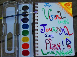 Visual Journal & Paints!